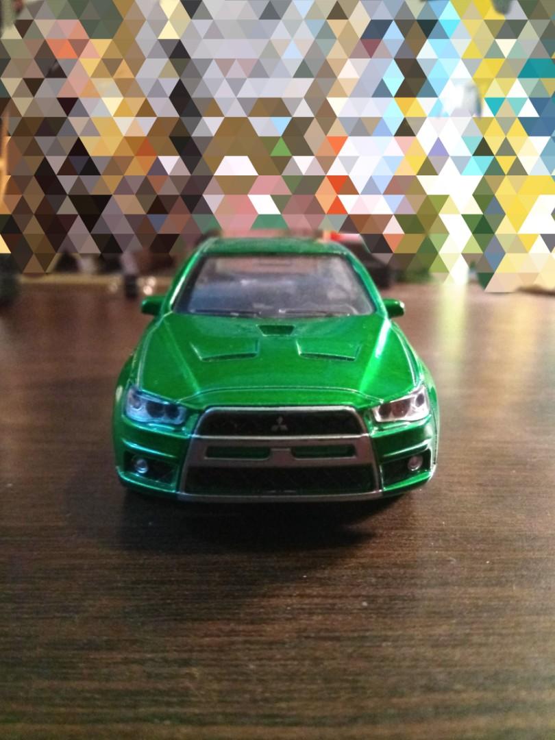 Mitsubishi Lancer Evo(Sound Effects included!)