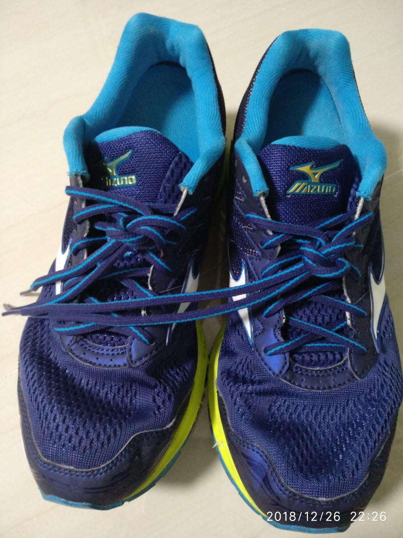 9004a2cc1a76 Mizuno wave rider 20 running shoe comes with super width front 2E ...