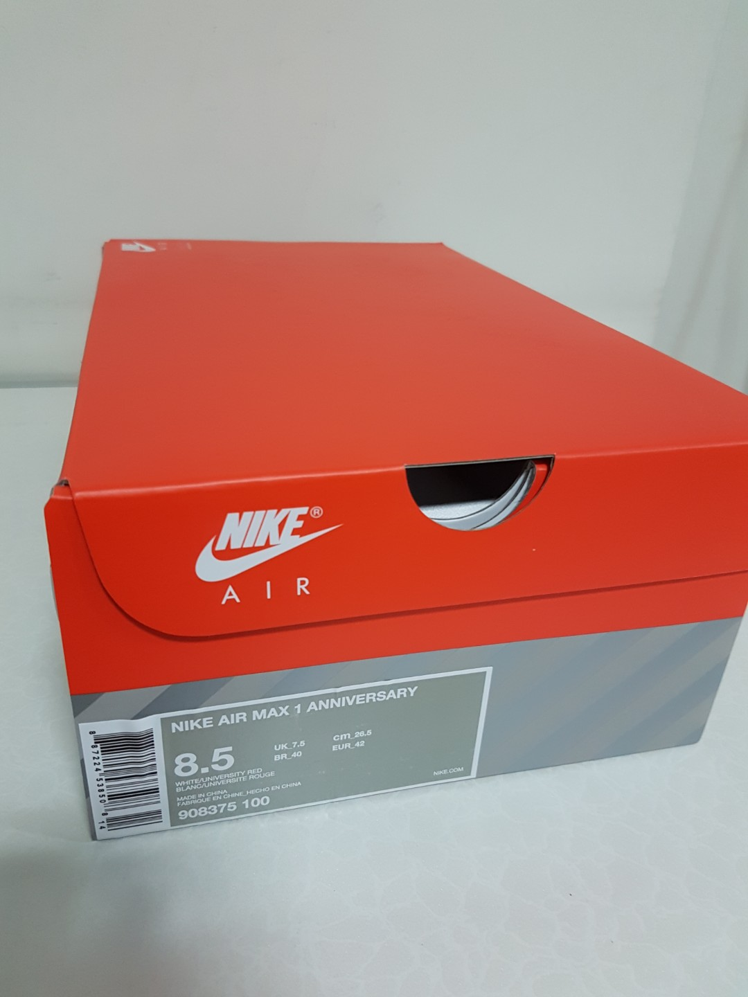 NIKE AIRMAX 1 OG 30th Anniversary RED (LIMITED EDITION) 7f5e29d02