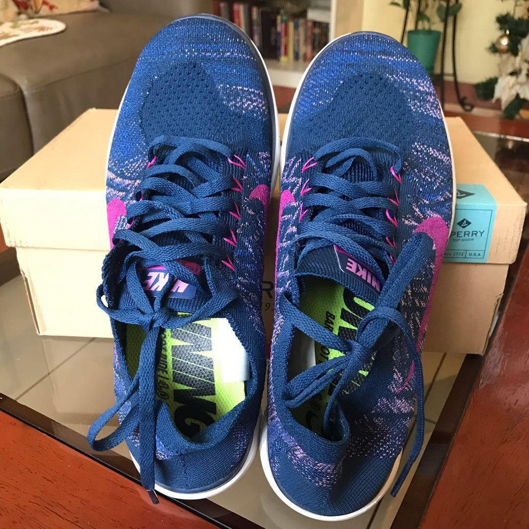 watch a74ed 21a41 Nike Free 4.0 Blue Size 9 on Carousell