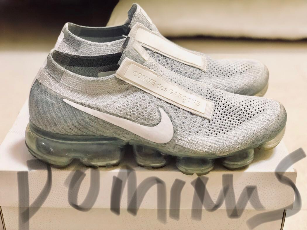4c79cfb2c5aad Nike x CDG Air Vapormax Pure Platinum  White