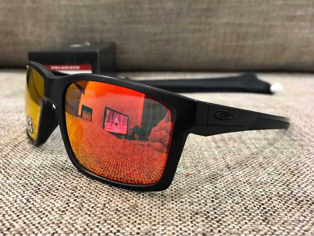 5f80c9c207b Oakley™ MAINLINK (Matte Black Ruby Iridium Polarized)