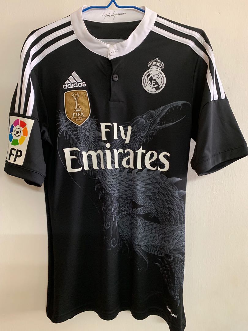 7449f7b94 Official Adidas Authentic Real Madrid 2014-2015 Third 3rd DRAGON ...