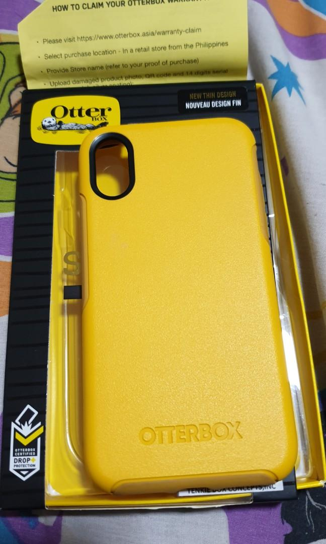 watch 005cb 8551f Otterbox symmetry case for iPhone X, Mobile Phones & Tablets, Mobile ...