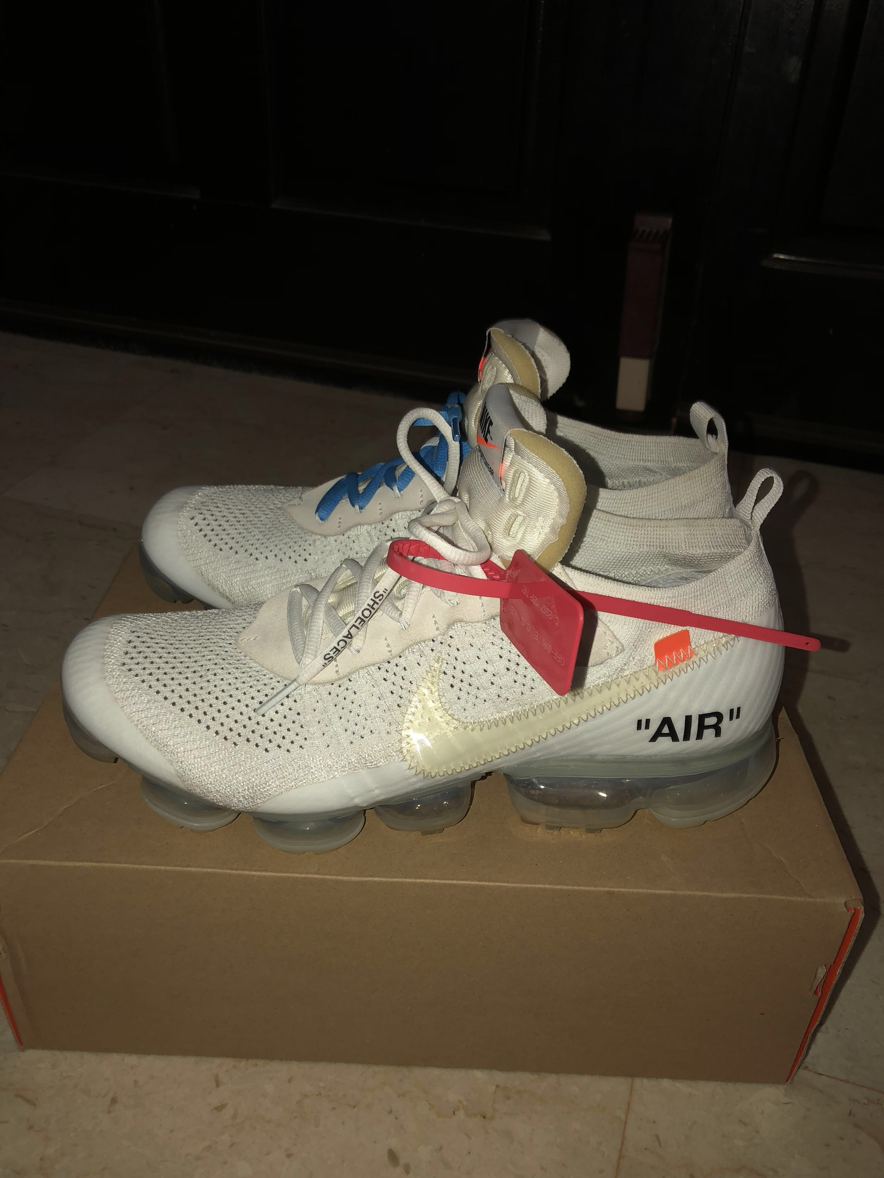 finest selection 54311 495c8 OW Nike Vapormax 2.0 White US11, Men s Fashion, Footwear, Sneakers on  Carousell