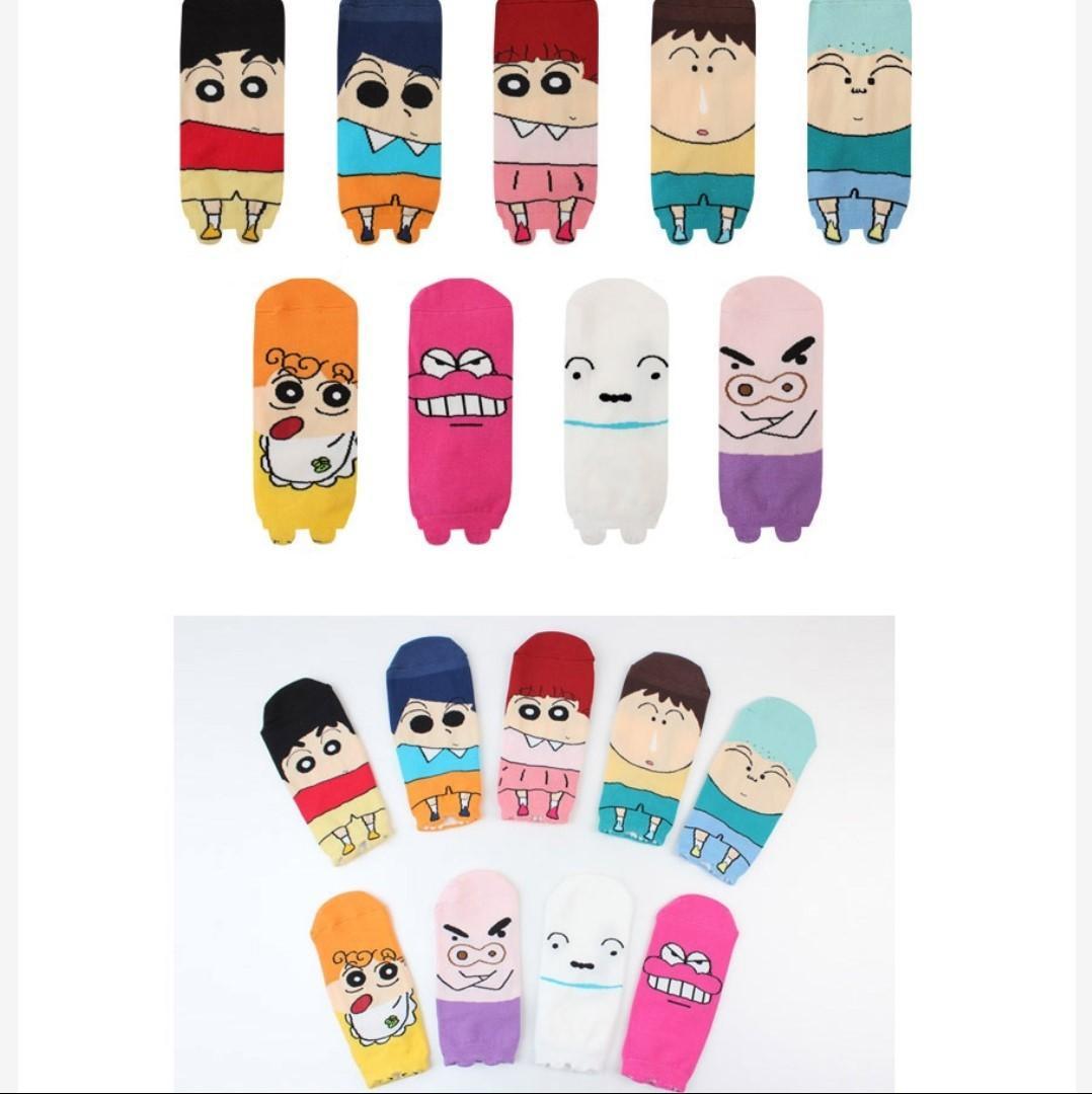 po 🍑crayon shin chan ankle socks it fs women s fashion