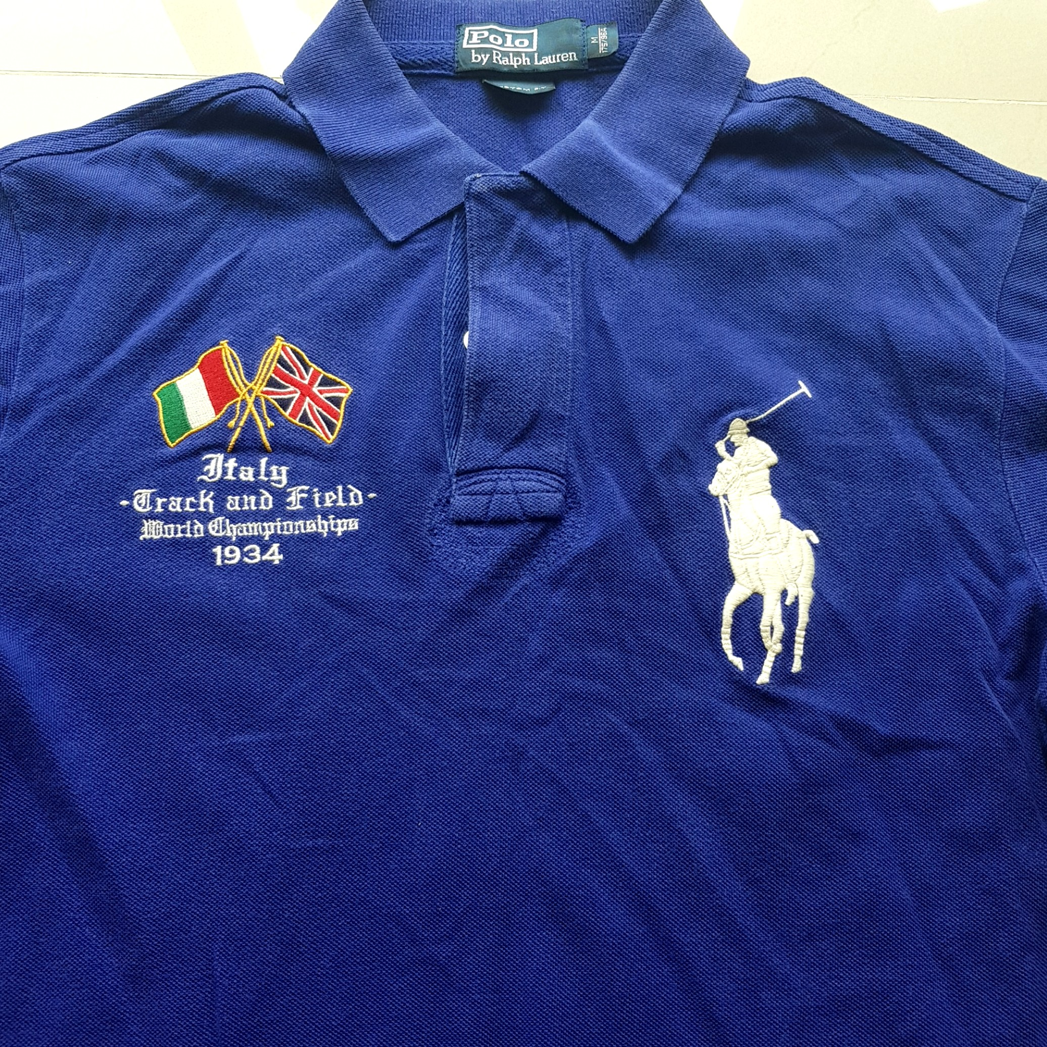 d2bcfa00 Polo Ralph italy track n field top, Men's Fashion, Clothes, Tops on ...