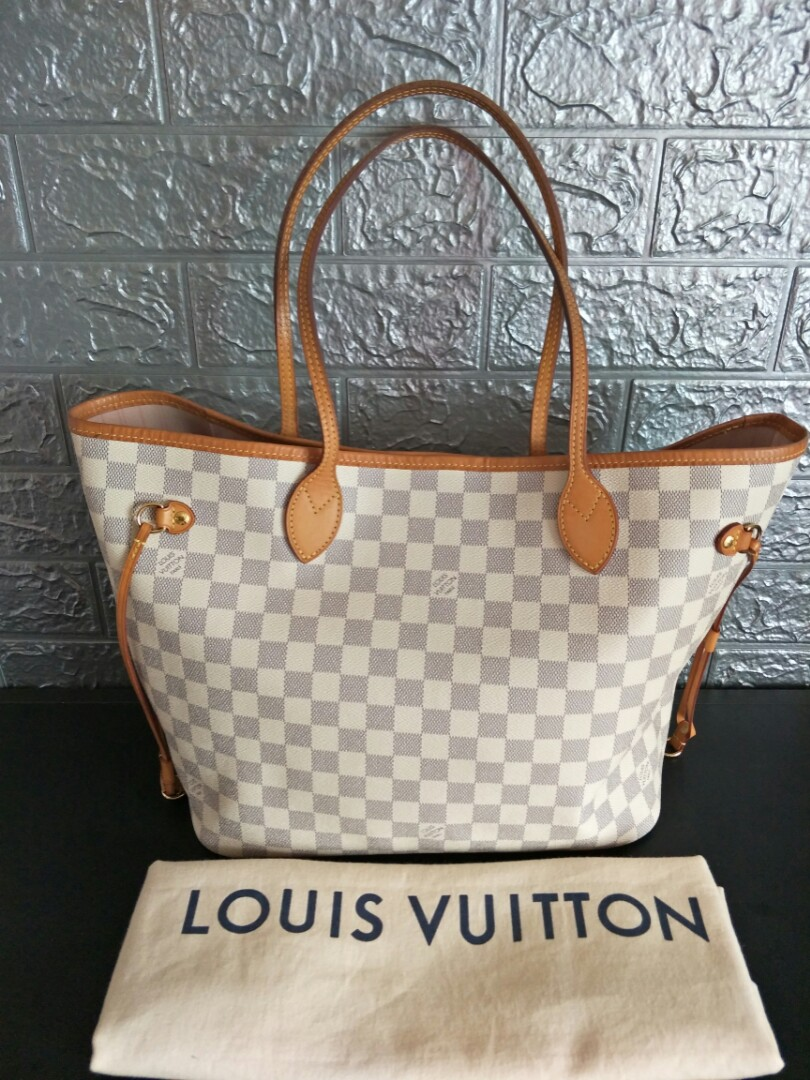 6b4237dc2b34 Preloved Authentic Louis Vuitton Neverfull MM.