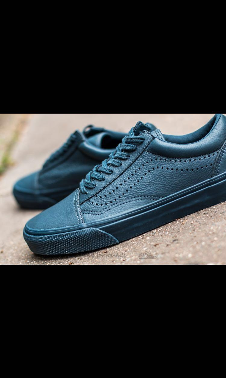 reduce to clear Vans midnight navy blue