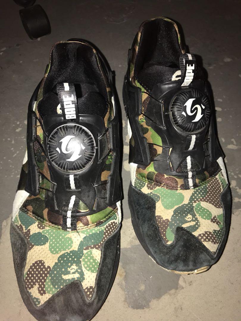 79c790dd3063e puma x bape disc blaze camo, Men's Fashion, Footwear, Sneakers on Carousell