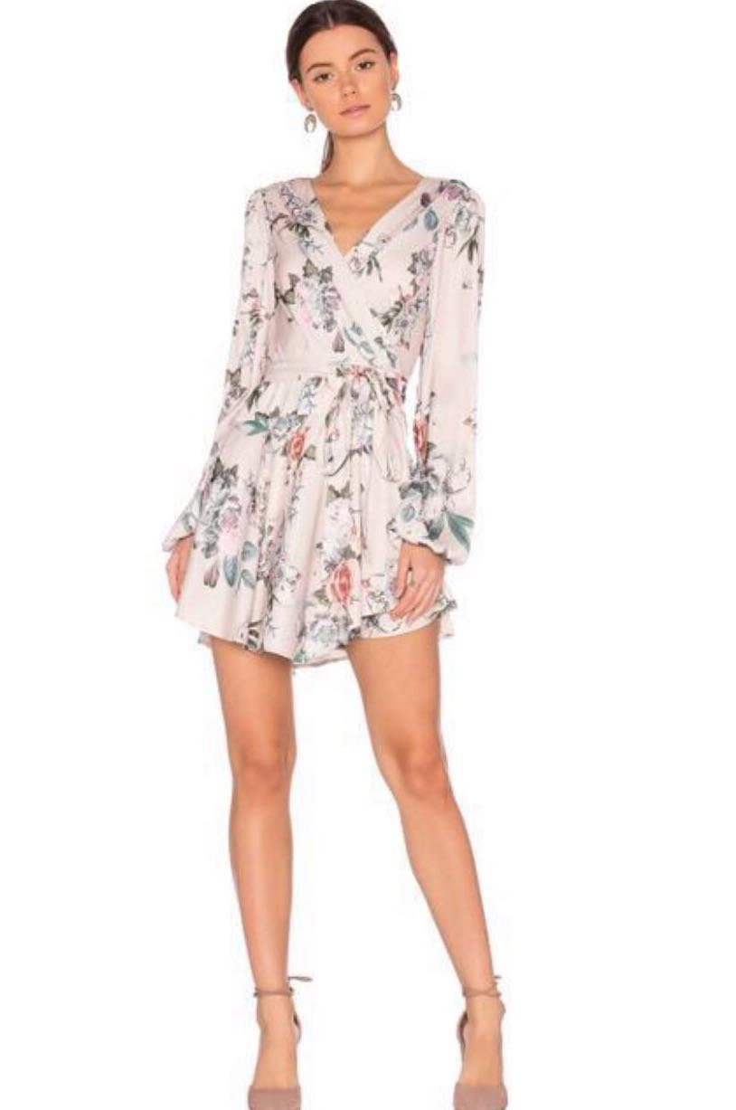 b2529f39d53f REVOLVE MAJORELLE TROPICANA FLORAL WRAP MINI DRESS [Coachella Fav ...