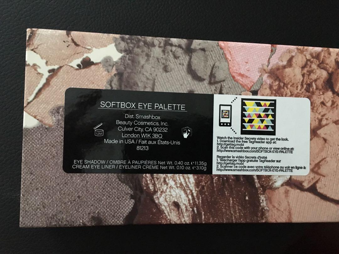 Smashbox palette - nearly new!