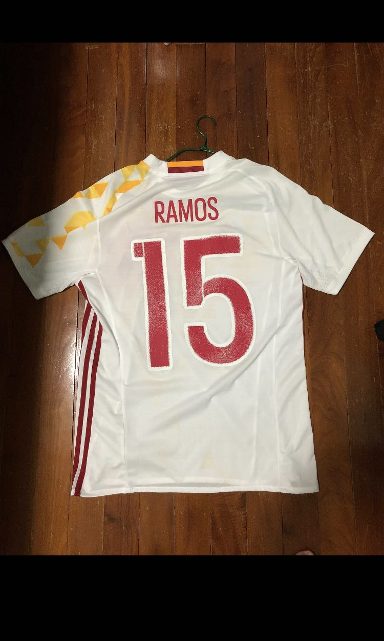 099d5c56f Spain Jersey EURO 2016 (Sergio Ramos)