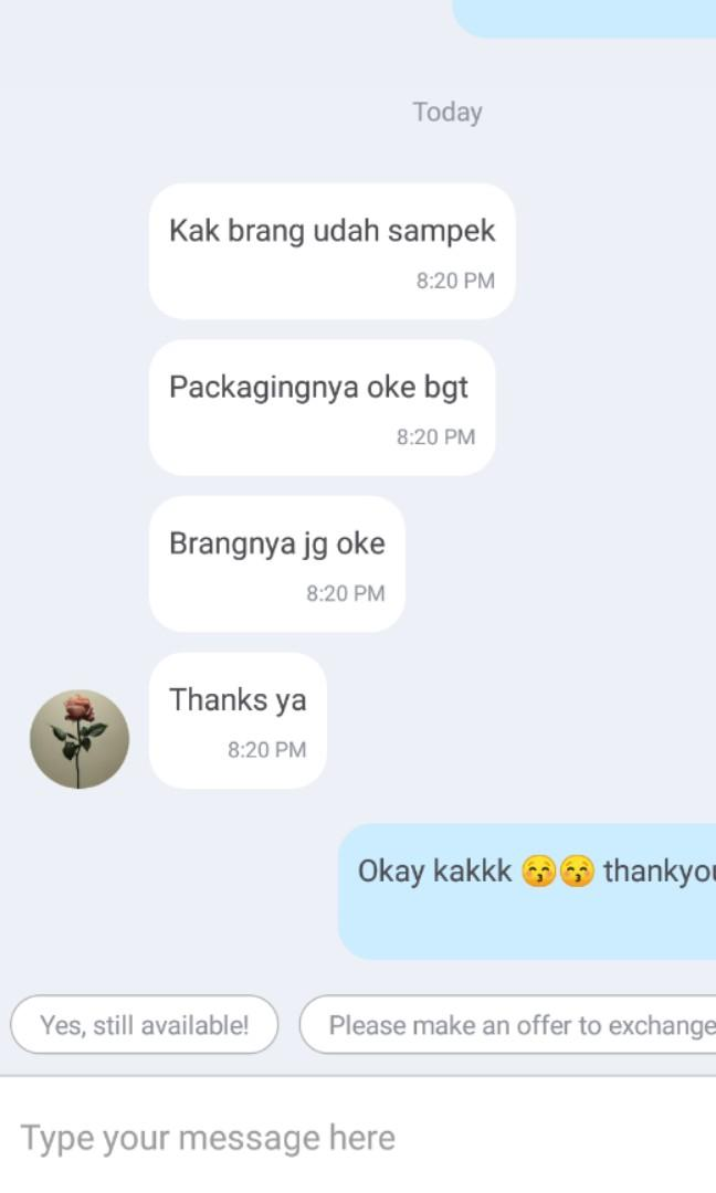 TESTIMONI AGAIN 🙏🙏 THANKYOU FOR TRUST US