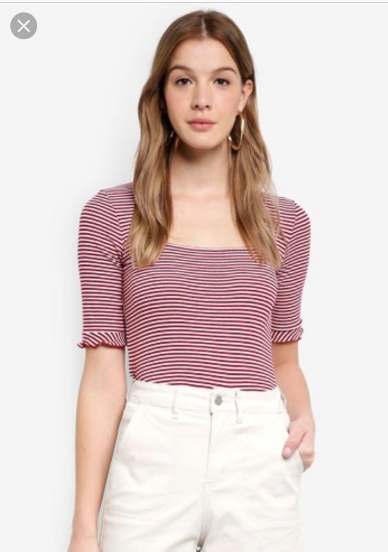 The fifth local stripe top size small brand new with tags