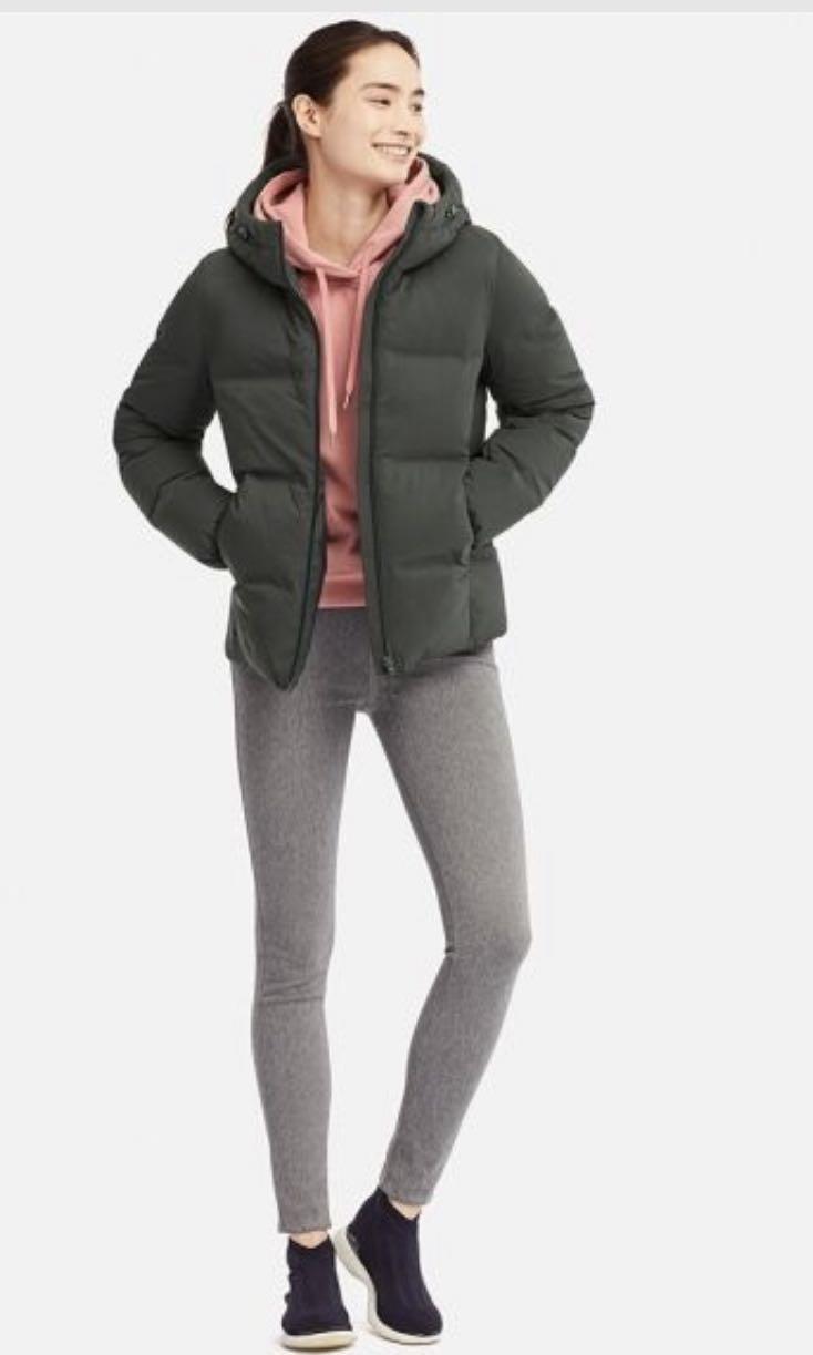 7810a33a18 Uniqlo Seamless Down Parka, Women's Fashion, Clothes, Outerwear on ...