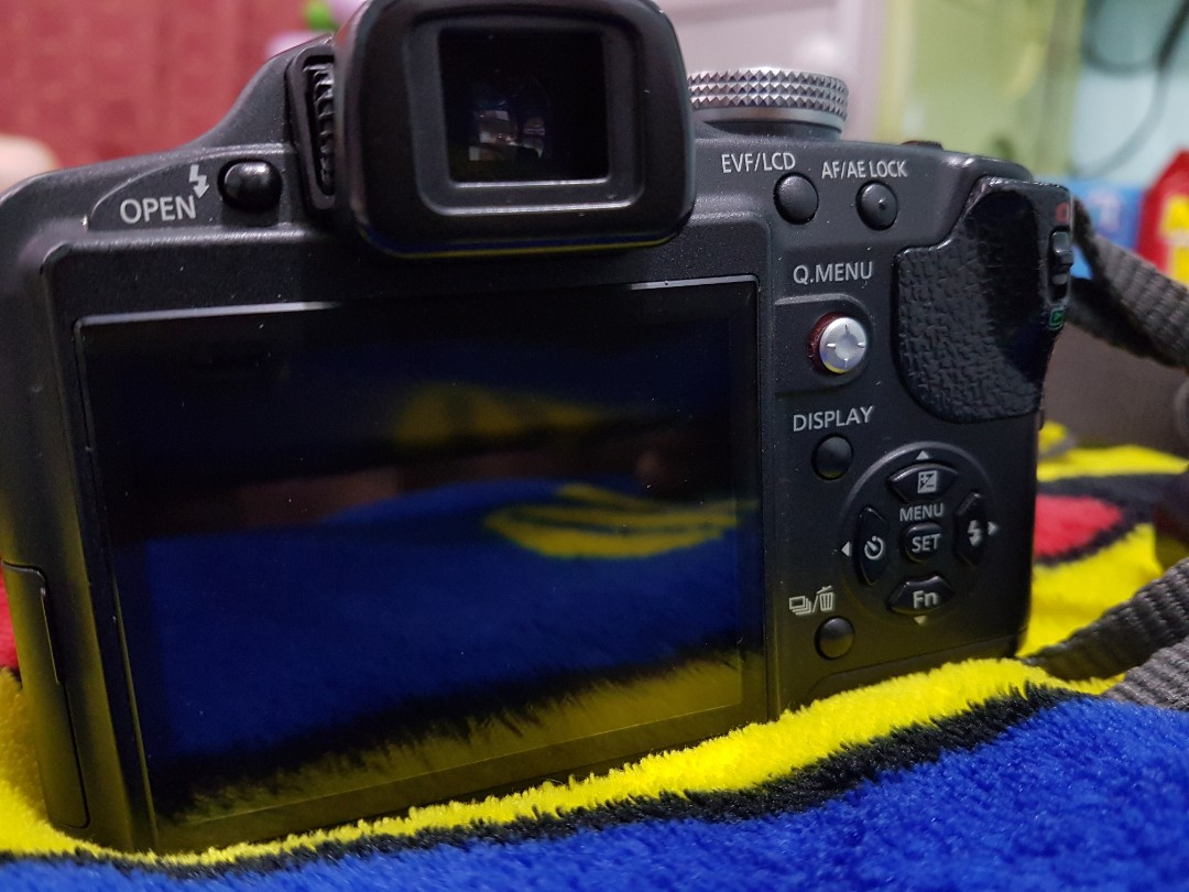 Used Lumix FZ28 SuperZoom Camera (Panasonic DMC-FZ28)