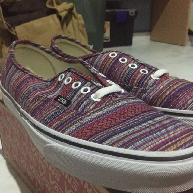 ed56add6db Vans (Guate Weave) Black Multi