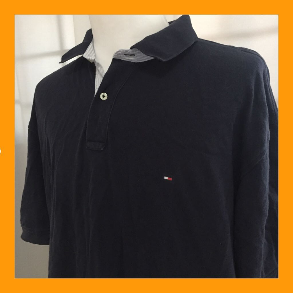 b24de130a69 Vintage Tommy Hilfiger polo top, Men's Fashion, Clothes, Tops on ...