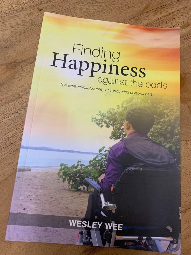 Wesley Wee : Finding Happiness against the Odds, Books