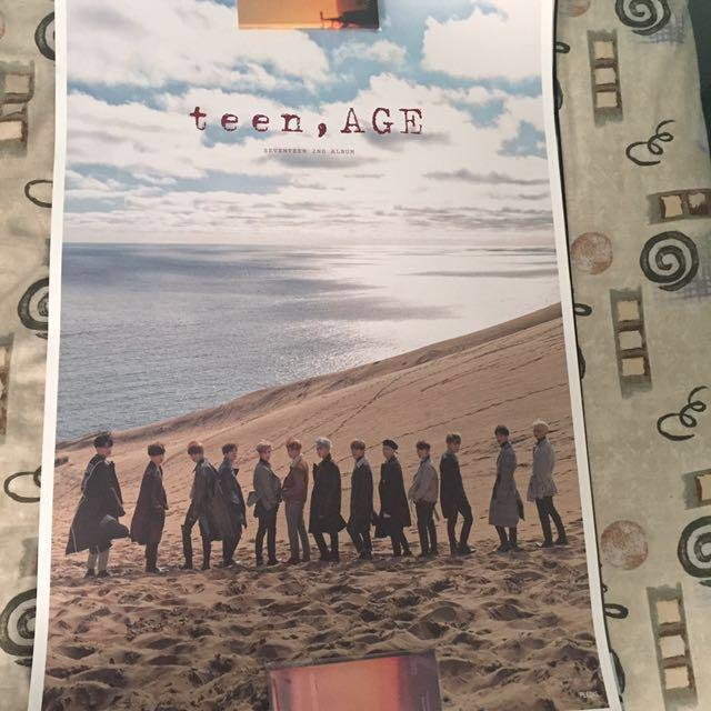 [WTS] Official Seventeen, GOT7, JJ Project, DAY6 Posters