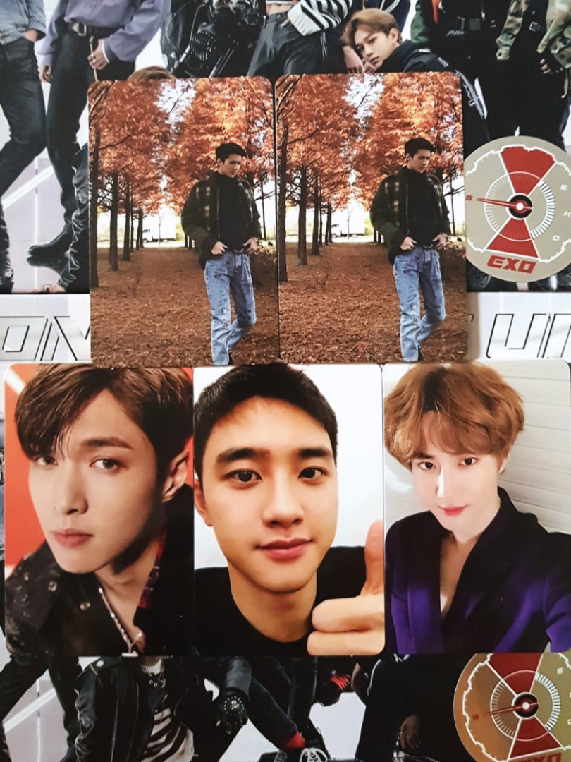 WTT/WTS] EXO DMUMT VIVACE Ver  PHOTOCARDS / ALBUMS, Entertainment, K