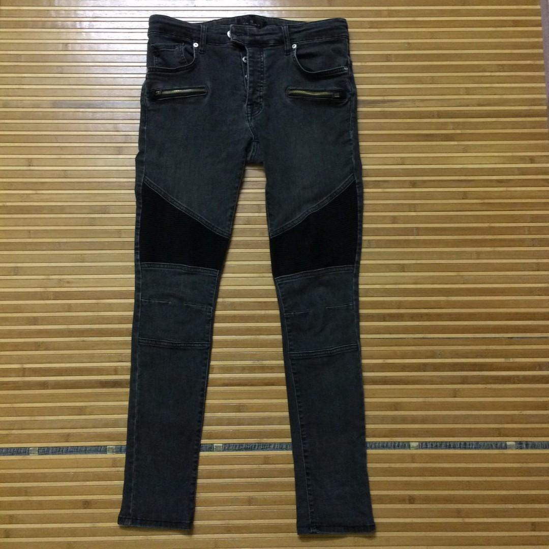 a8e9c120 Zara Man Biker Skinny Jeans
