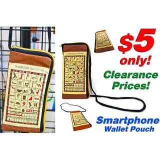 Smartphone Wallet Pouch *Less than $6 now! Last time Sale*