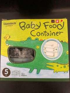 BN GLASSLOCK BABY FOOD CONTAINER