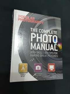 Photography Manual Book