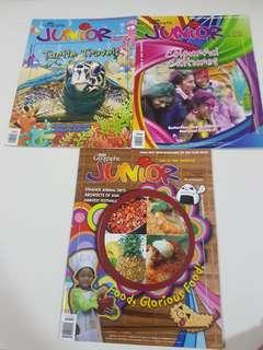 Asian Geographic Junior old issues new mag unused