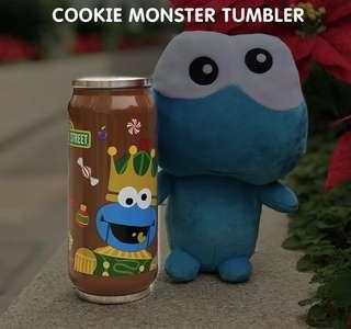 Cookie Monster tumbler
