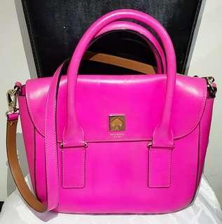 Kate Spade Bag Fuschia (100% Authentic) - Pre-Loved
