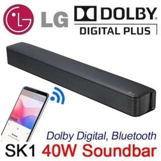 LG SK1 Bluetooth Sound Bar (New)