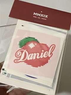 Brand new Kang Daniel sticker pack