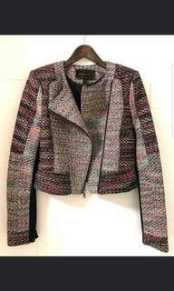 [Buy2get1free]Tweed Jacket BCBG