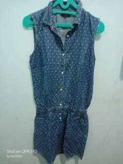 Tira jeans jumpsuit