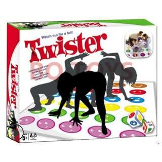 🚚 Twister Game - New version now come with Dice - Fast and Easy Game than the Spinner