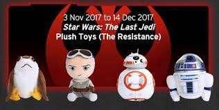 Star Wars The Last Jedi Plush Toys