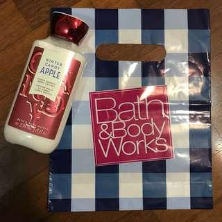 Body lotions ~ Bath And Body Works
