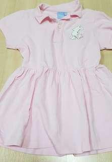 🚚 Mickey Pink Polo Dress