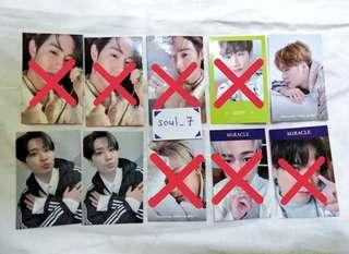 [WTS/WTT] GOT7 <PRESENT YOU&ME> PHOTOCARDS
