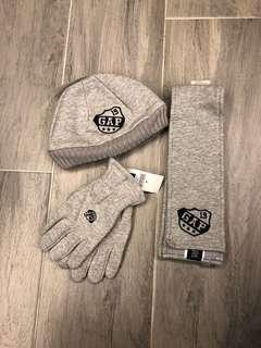 Gap kids cold weather sets (hat/scarf/gloves)