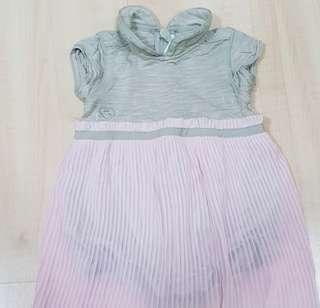 🚚 Chateau de sable baby dress romper