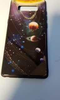 Samsung Galaxy note 8 星空玻璃機殼