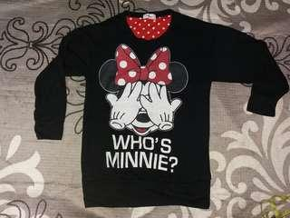 Vintage Minnie Mouse Sweatshirt