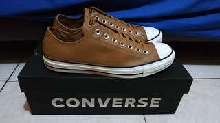 Converse ct as ox brown leather.