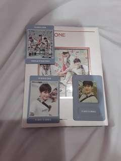 Wanna One Kang Daniel Fullset Triple Position