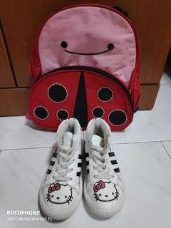 Baby Shoes and Bag