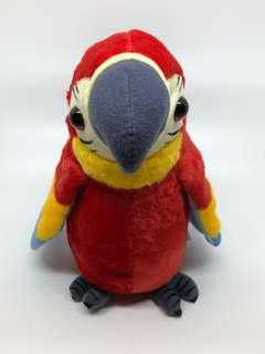 Talking Imitation Talking Macaw Parrot Plushie (Blue)